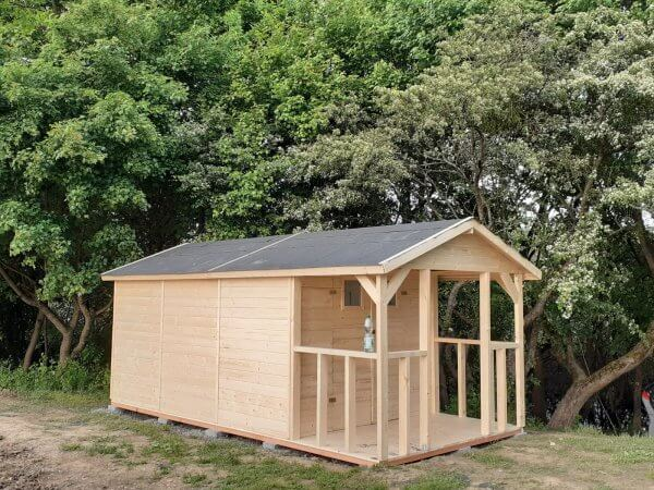 Záhradný domček z dreva Kristina