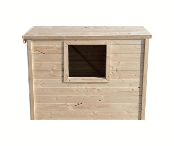 detsky dreveny domek mimi pohlad z boku