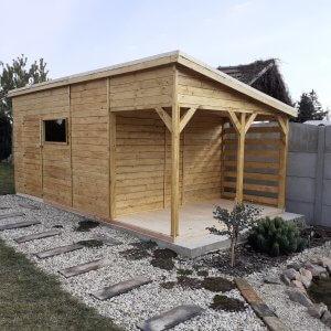 Dreveny zahradny domcek Michaela