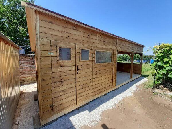 dreveny zahradny domcek Olivia